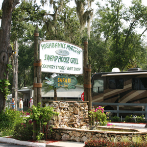 Swamp House Grill & Happy Snapper Tiki Bar - Highbanks Marina and Campground