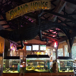 Swamp House Grill & Happy Snapper Tiki Bar - Swamp House Grill