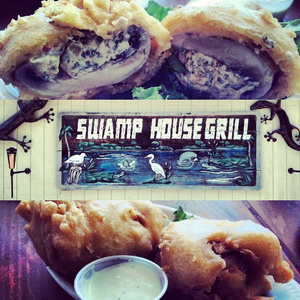 Swamp House Grill & Happy Snapper Tiki Bar - Swamp House Grub